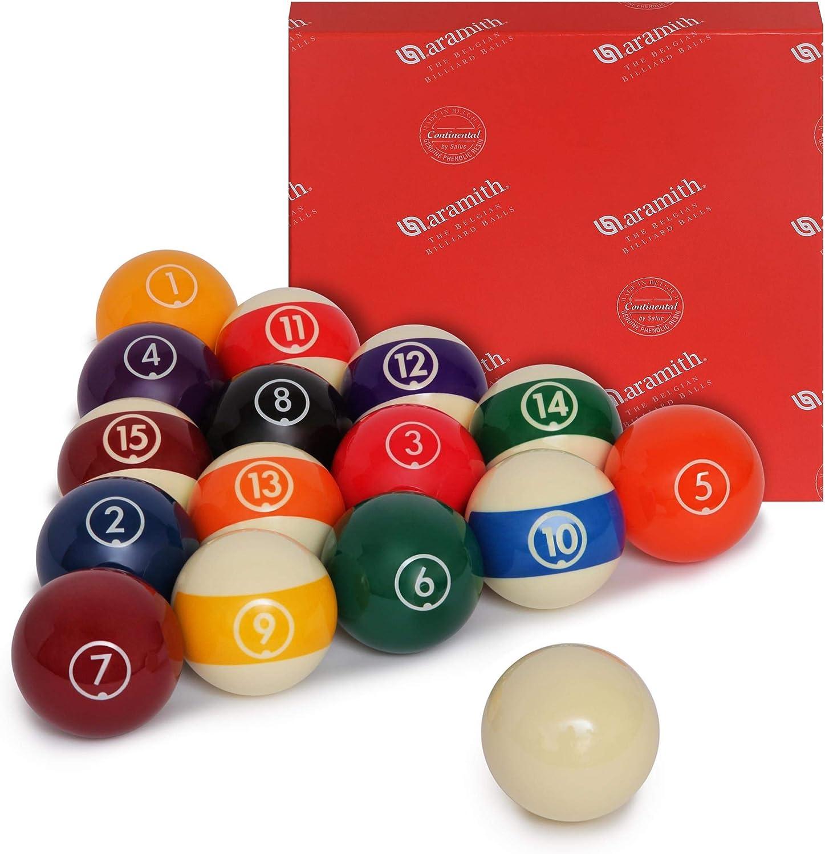Aramith Continental Billiard Pool Ball 2 Same day shipping excellence Set 1 4