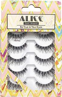 ALICE False Eyelashes Demi Wispies Natural Lashes 5 Pairs Multipack