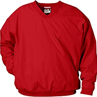 Microfiber Windshirt Red Size Medium