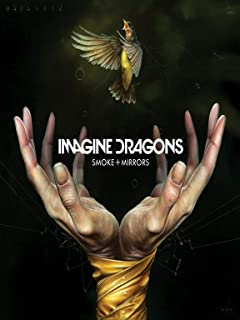 Credence Collections Imagine Dragons Iconic-Smoke and Mirrors HD Poster 12 x 16 Inch
