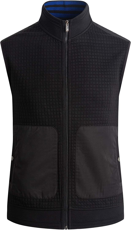 Bugatchi mens Mens Sleeveless Polyester Vest