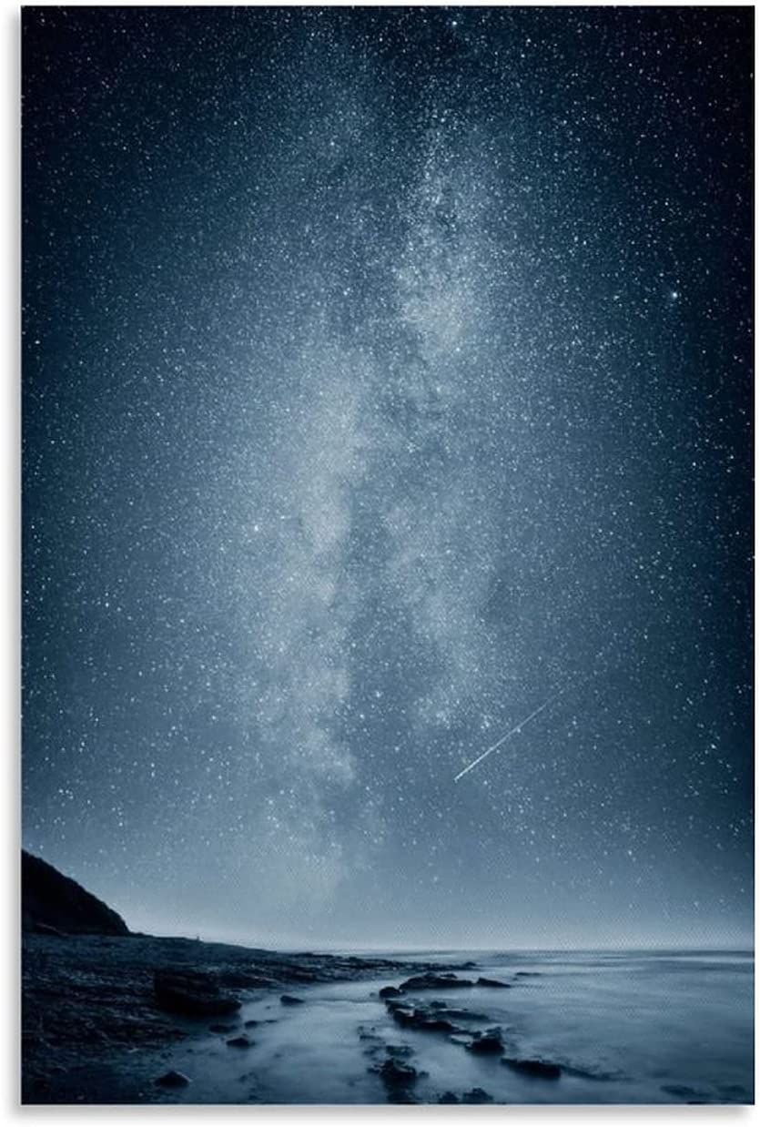 Picnelt Beautiful Dealing full price reduction Starry Sky at Painting Night Oil Mural Surprise price Poster
