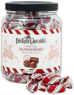 Candy Cane TruffleCremes in Double Milk Chocolate - 28oz Jar - by Dilettante