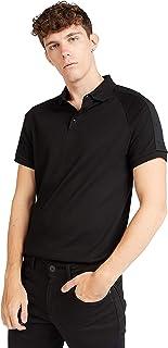 Iconic Men's 2300542 MALDIVES Polo Shirt, Black