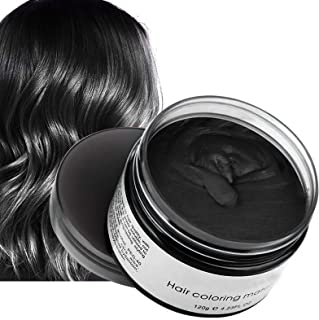 Temporary Hair Dye,Natural Hair Coloring Wax,Hair Color Wax 4.23 Ounces,Fluffy and Matte Hair Wax Suitable for Parties,Rol...