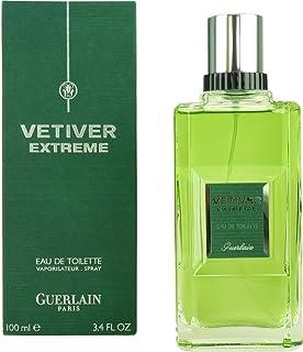 Vetiver Extreme Cologne Spray by Guerlain for Men Eau de Toilette 100ml
