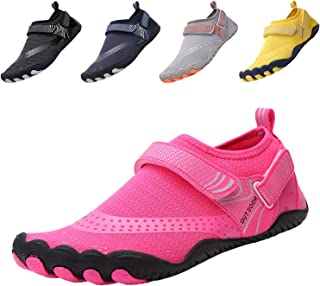 funmoon Barefoot Water Shoes Mens Womens Quick Dry Aqua Shoes Unisex Swimming Shoes for Men, Beach, Diving, Surfing, Boati...