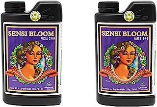 Advanced Nutrients 6101-14AB pH Perfect Sensi Bloom Part A+B, 1 Liter, Brown/A 2pack