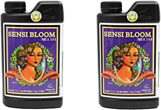 Advanced Nutrients 6101-14AB pH Perfect Sensi Bloom Part A+B, 1 Liter, Brown/A