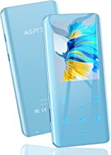 """$38 » 32GB MP3 Player with Bluetooth 5.0, AGPTEK 2.4"""" Curved Screen Music Player with Speaker HiFi Lossless Sound with FM Radio,..."""