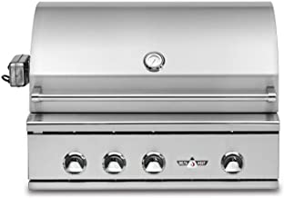 Best bullet 5-burner built-in natural gas grill Reviews