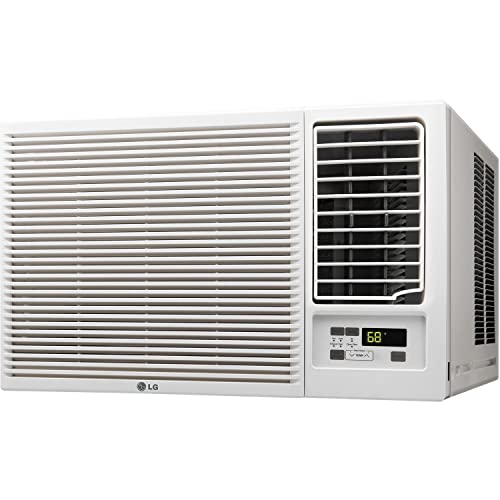 LG LW1816HR 18000 BTU 230V Conditioner & Heat Window-Mounted Air Conditioner White