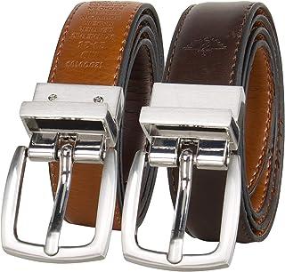 Dockers Boys' Big Reversible Black-to-Brown Belt,