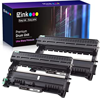 E-Z Ink (TM) Compatible Drum Unit Replacement for Brother DR420 DR 420 TN450 TN 450 (Black, High Yield, 2-Pack)