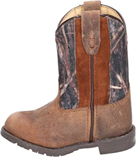 Smoky Mountain Boots | Hopalong Series | Toddler Western Boot | U-Toe Leather | TPR Sole & Walking Heel | Man-Made Lining...