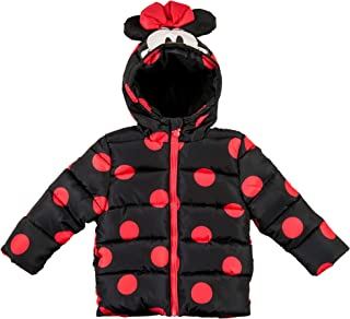 Minnie Mouse Girls Toddler Character Puffer Jacket