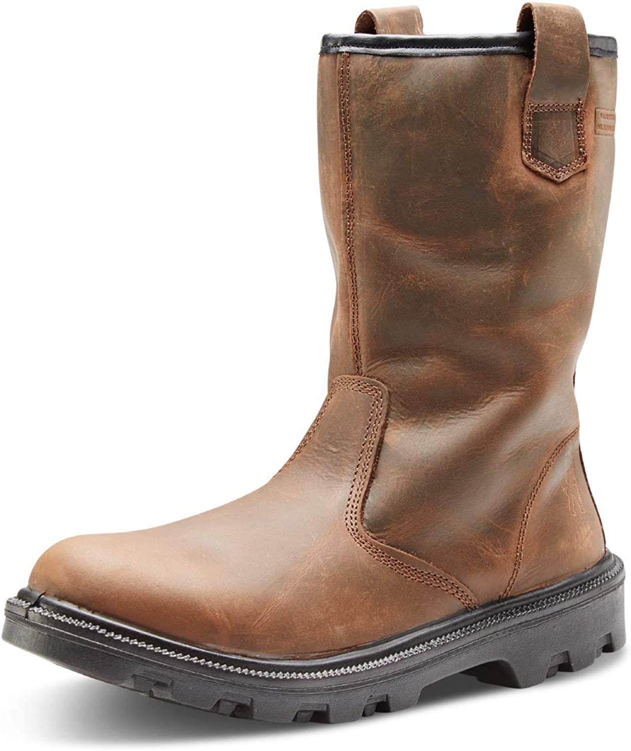 Safety Footwear Brown Water Resistant Sherpa Rigger Boot Sizes 6-12 HGSRBBS