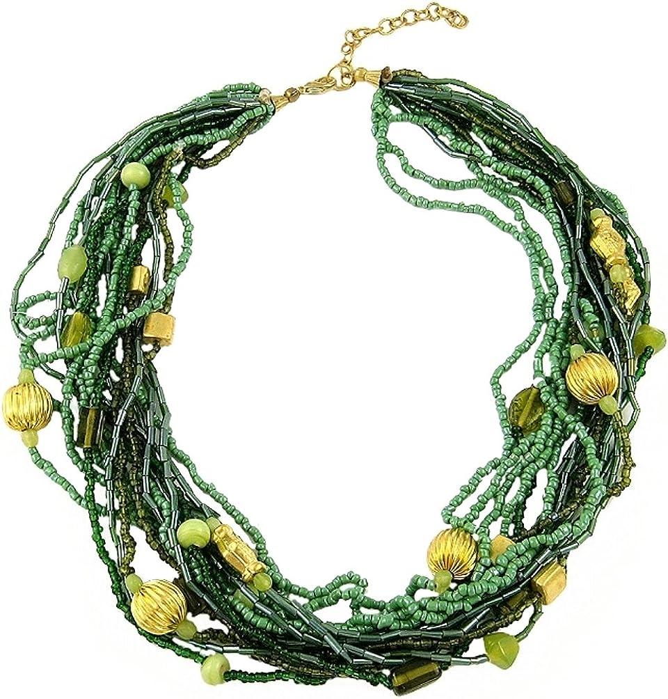 Green Bead 18