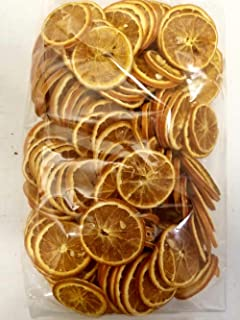 Little Valley Large 1 LB. Bag of Dried Orange Slices - Perfect for Potpourri, Crafts, Table Scatters - Not for Human Consumption