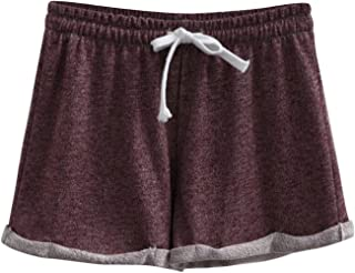 SYTX Womens Active Wear Lounge Yoga Gym Workout Casual Sport Shorts