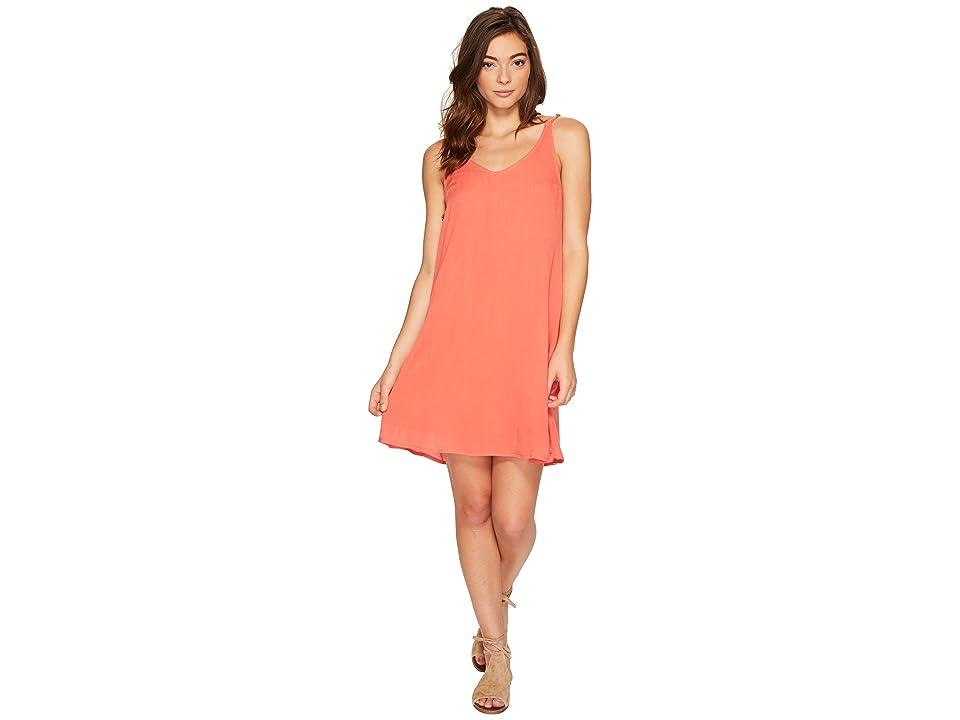 Roxy Dome of Amalfi Dress (Spiced Coral) Women