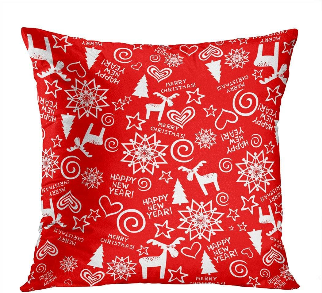 Subently Decorative Throw Pillow Indefinitely Cover 18x18 Christmas New Inch Discount is also underway