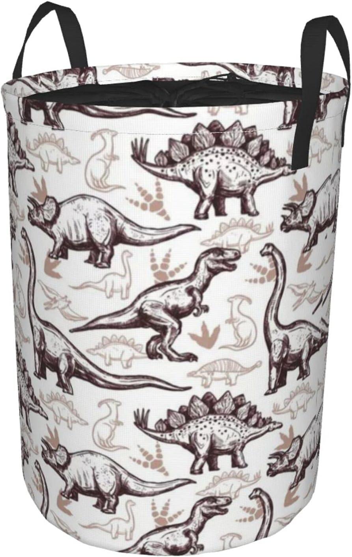 Max 64% OFF Naoingei Dinosaur free shipping Circular Hamper Round Dirty Tunic Water Pocket