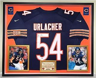 875e9123694 Premium Framed Brian Urlacher Autographed Signed Chicago Bears Official  Nike Jersey - PSA COA