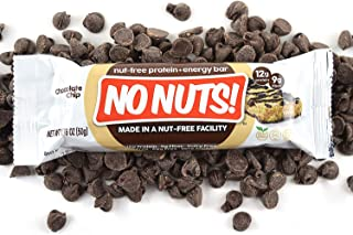 Sponsored Ad - No Nuts! 100% Nut Free Dairy Free Vegan Protein Bars, Chocolate Chip, Organic, Kosher, Egg-Free, Non-Gmo & ...
