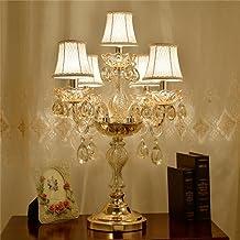 Einfache moderne pastoralen kreativen nachttischlampe floral kristall tischlampe schlafzimmer tischlampe Uncle Sam LI
