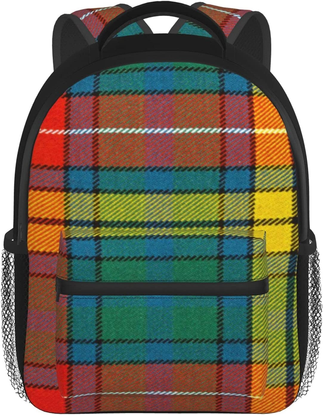 Clan Buchanan tartan Casual Inexpensive Special sale item Bookbag T Outdoor For Backpack Daily