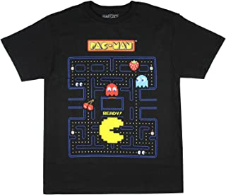 Pac-Man Boy's Game Action Graphic Print T-Shirt