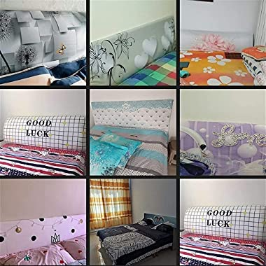 Bed Headboard Cover King Size Double Headboard Slipcover Single Bed Head Cover Stretch Printing Headboards Backrest Cover Hea