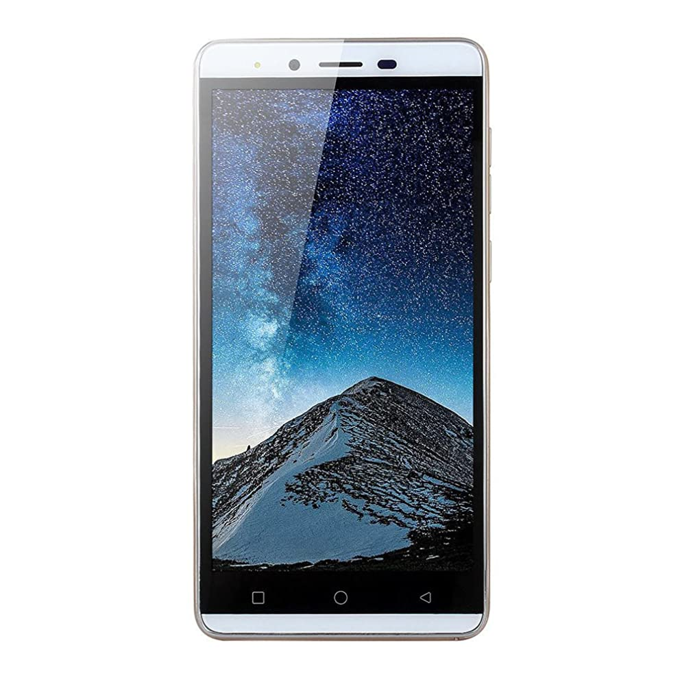 NXDA Spare Machine 5.0''Ultrathin Android5.1 Quad-core 512MB+4G 3G/GSM WiFi Dual SIM Unlocked Smart Cellphone (Gold)