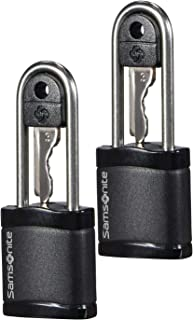 Samsonite Global Travel Accessories Key Luggage Lock 2X, 6 cm, Black