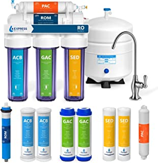 DLONY 3-Stage Water Filter,Ultrafiltration Machine Purifier Filter Replacement Quick Connect CTO