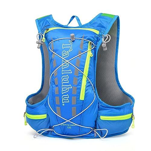 9a8a69abbce3 TANLUHU X-CAT Lightweight Running Hydration Vest Backpack 15L Outdoor  Running Cycling Hiking Climbing