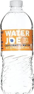 Water Joe Caffeinated Water, 70 Milligrams of Caffeine Per Bottle, 20-Ounce Bottles, 12 Pack
