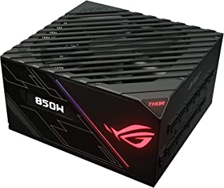 Asus ROG Thor 850W Platinum Power Supply Unit stands out with Aura Sync and an OLED display