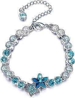 Infinity Horseshoe Eternity Wedding Band Ring for Women Girls DHQH White Gold Plated Diamonds Ring