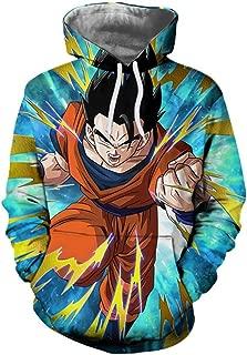 Anime Hoodies Gohan Hooded Sweatshirts Goku 3D Hoodies Pullovers Men Hoodie