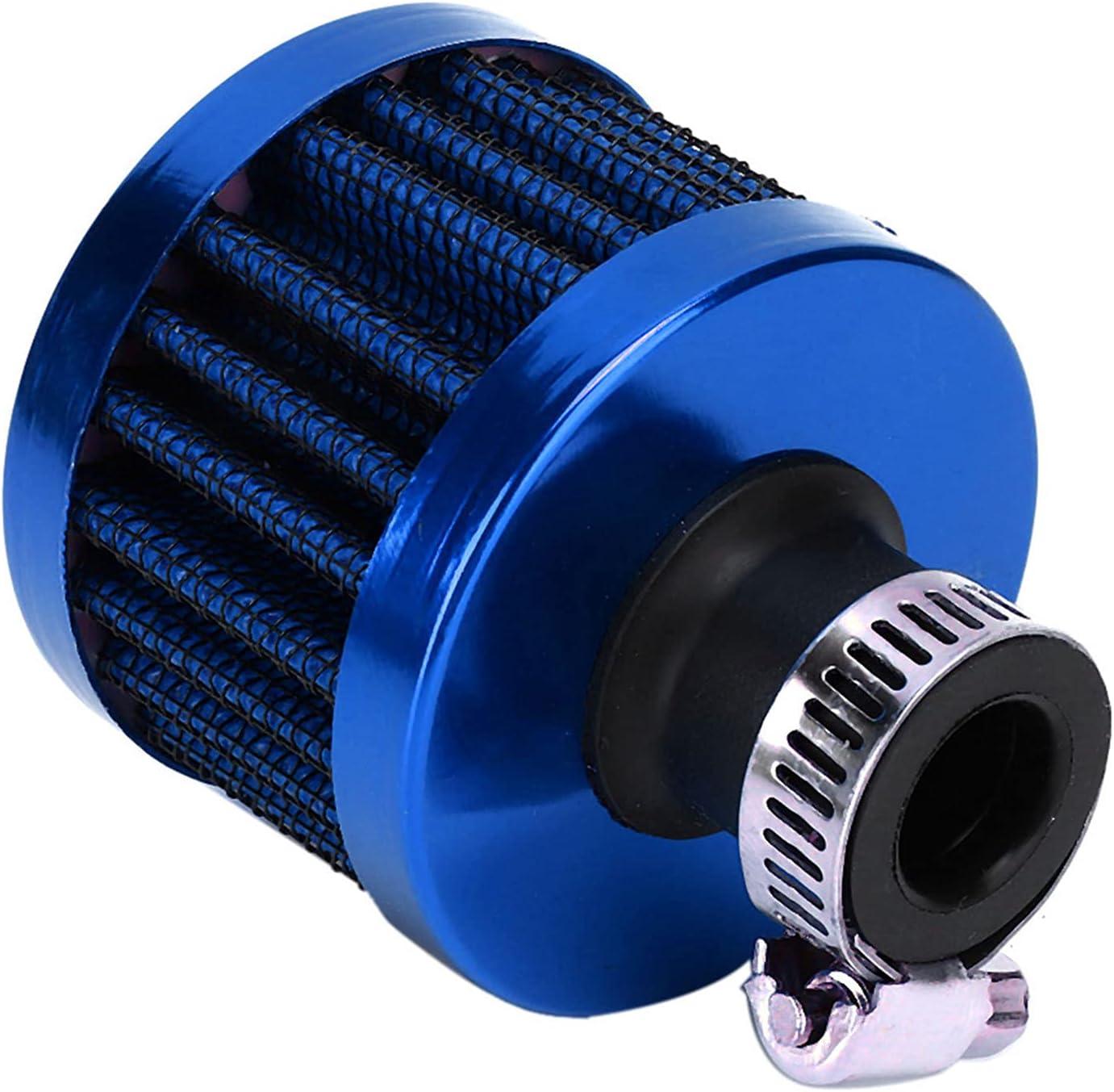 Air Filter 25mm/1in Mini Car Air Intake Filter Crankcase Vent Va