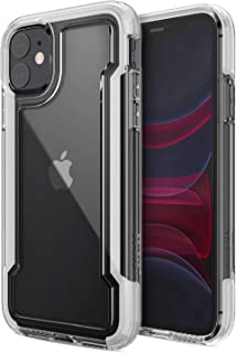 X-Doria Defense Clear, iPhone 11 Case - Military Grade Drop Protection, Shock Protection, Clear Protective Case for Apple iPhone 11, (White)