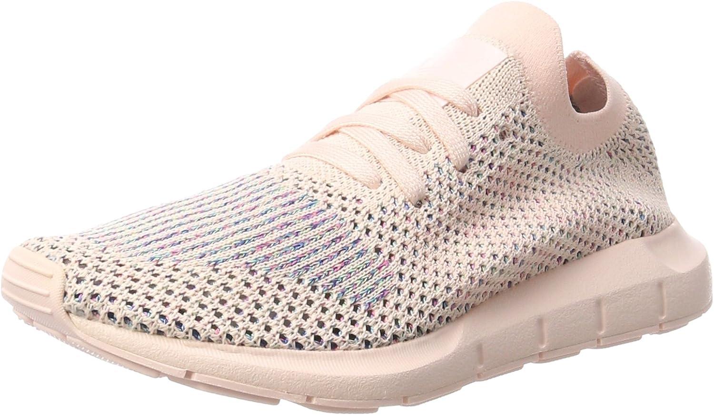 Adidas ORIGINALS Women's Swift Run Primeknit Trainers Icey US8 Pink
