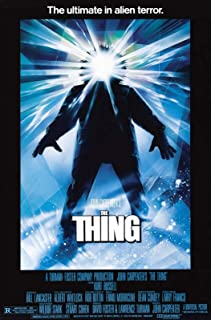 "PosterOffice The Thing Movie Poster (1982) - Size 24"" X 36"" - This is a Certified Print with Holographic Sequential Numbering for Authenticity."