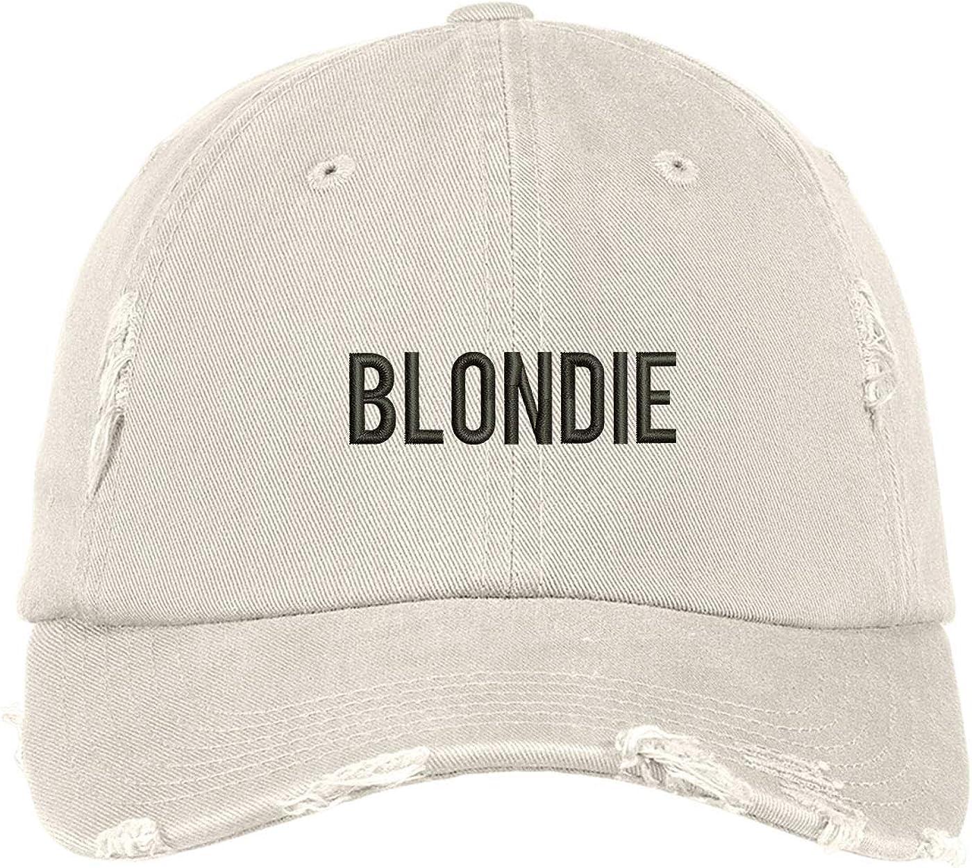 Prfcto Lifestyle Blondie Distressed Baseball Cap - Unisex Baseball Cap