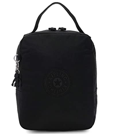 Kipling Lyla Insulated Lunch Bag (Black Noir) Handbags