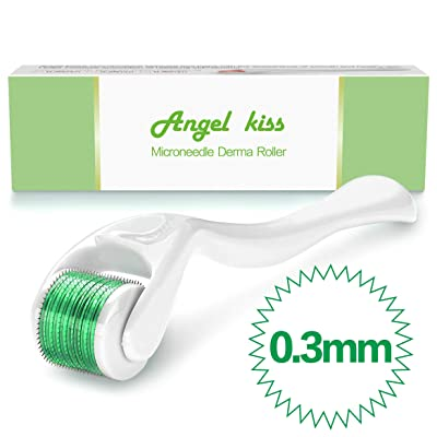 Microneedle Derma Roller for Face - Angel Kiss ...