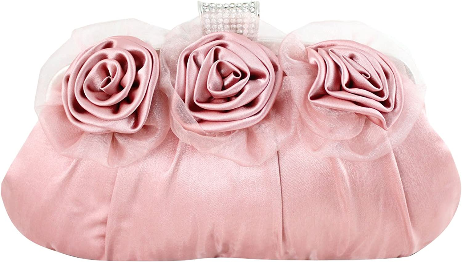 Jacki Design Sweet and Soft Flowers Party Clutch