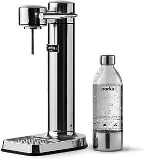 Aarke - Carbonator Iii Premium Carbonator/Sparkling & Seltzer Water Maker With Pet Bottle (Stainless Steel), Connectme Ele...